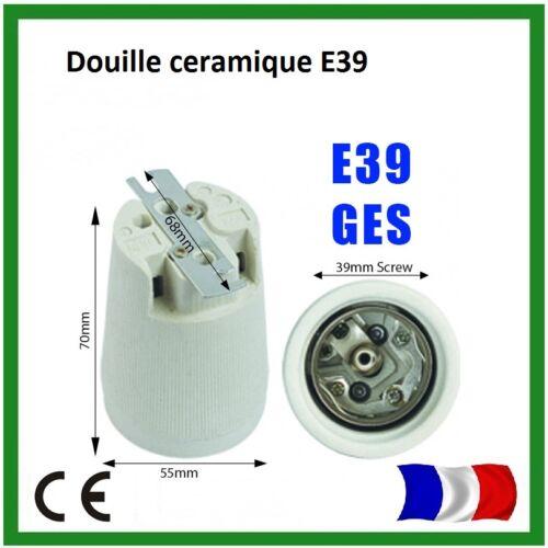 2 Douilles ceramique E40 Lampe ampoule Hydroponique pour Croissance