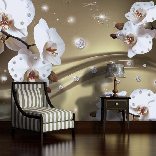 Poster papier peint papier peint papier peint photo la fresque Diamant Orchidée motif 2314 p8