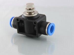 12mm-a-Pousser-Controle-de-Flux-Valvule-Uni-Directionnel-Corps-en-Plastique