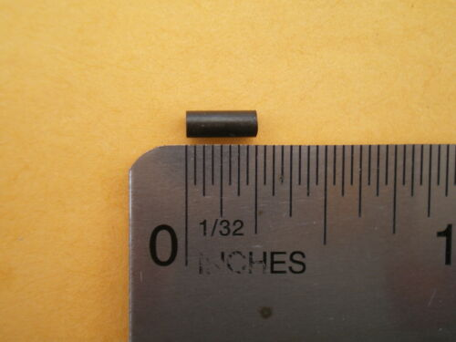 250 BLACK WIRE LEADER CRIMP SLEEVES GOOD FOR 20 TO 60 LBS TEST #30L .069 I.D.