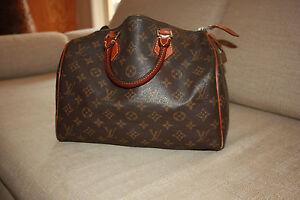 9ceeac8697cd Image is loading Vintage-Louis-Vuitton-Speedy-30-100-Authentic