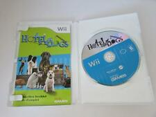 NINTENDO WII VIDEO GAME--HOTEL FOR DOGS- DISC MANUAL CASE