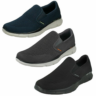 Herren Skechers Equalizer Double Play Slipper Memory Foam Turnschuhe Schuhe 51509 | eBay