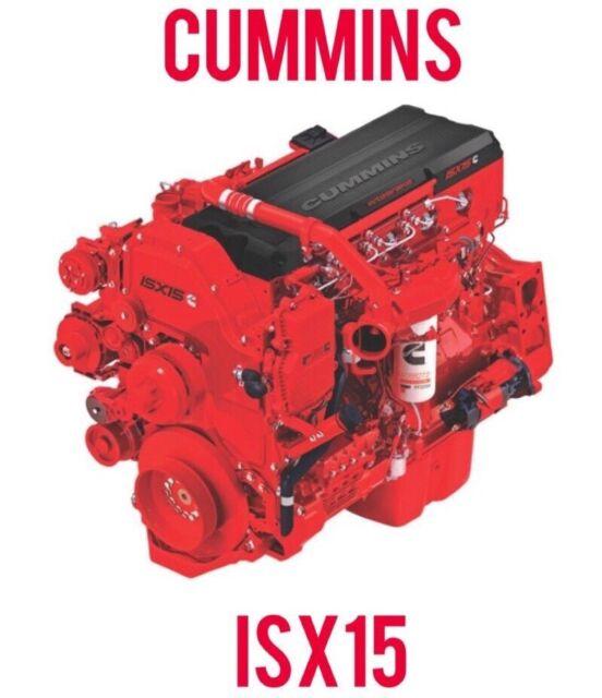 Cummins Signature ISX15 4022250 Engine Service Repair Manual Latest CD