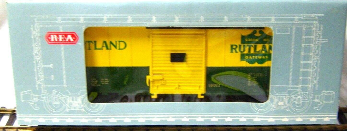 REA 46001 RUTLAND BOX CAR