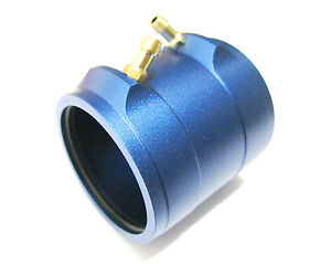 silver aluminum water cooling jacket for B36 540 brushless motor for rc boat