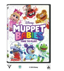Muppet-Babies-Time-to-Play-DVD-NEW