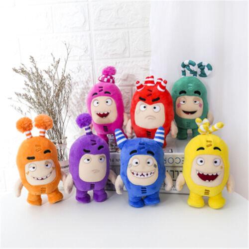 7pc//Set Anime Oddbods Doll Stuffed Plush Soft Toys Kids Gift Bubbles Decor Dolls
