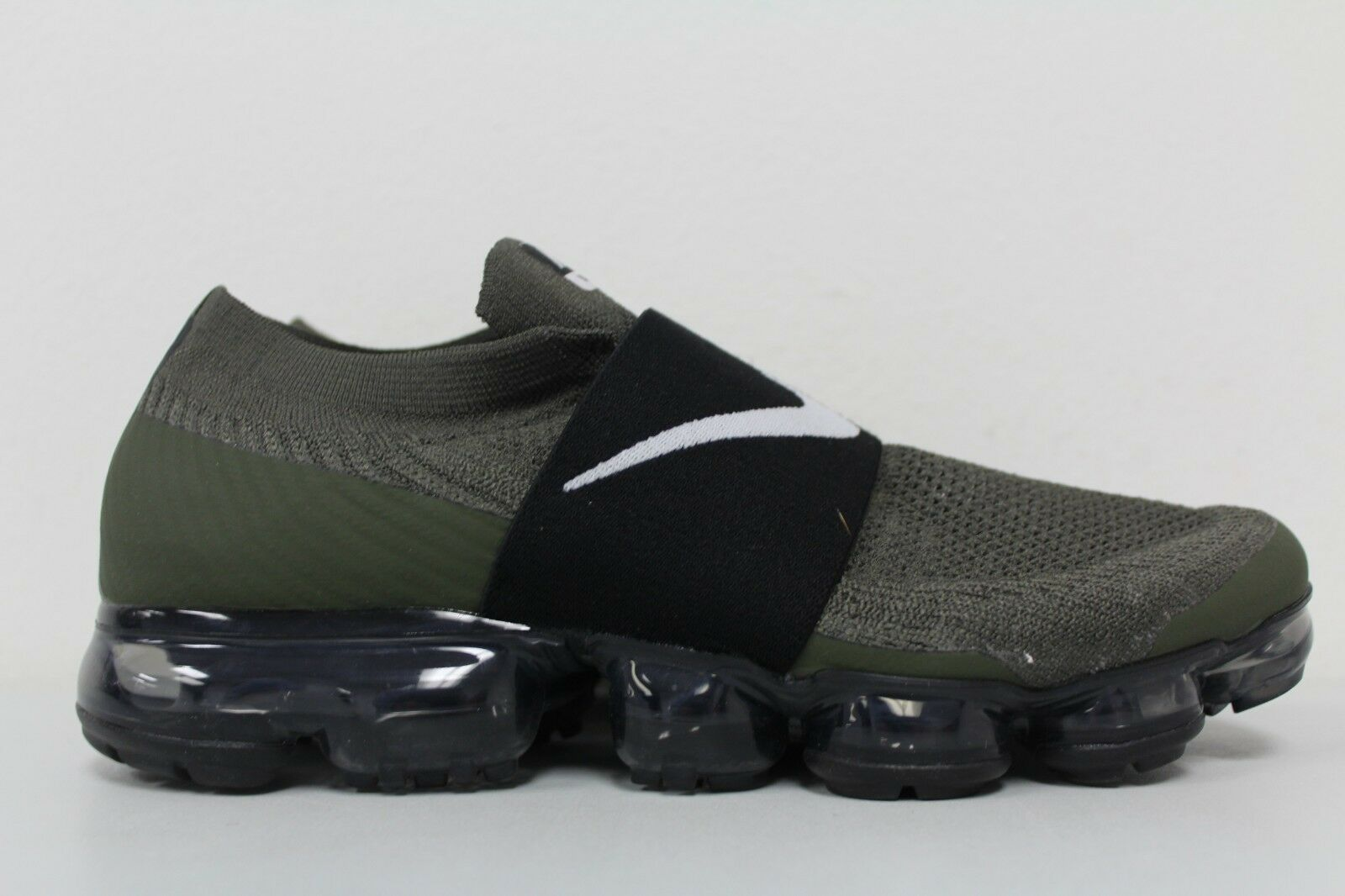 baf98ab7c3c1f Nike Womens Air Vapormax Flyknit MOC Cargo Khaki Black Aa4155 300 ...