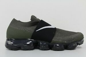 innovative design 81249 e9551 Image is loading Nike-Womens-Air-Vapormax-Flyknit-Moc-Cargo-Khaki-