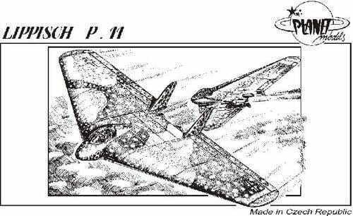 PLANET MODELS 067 Lippisch P.11 1 72