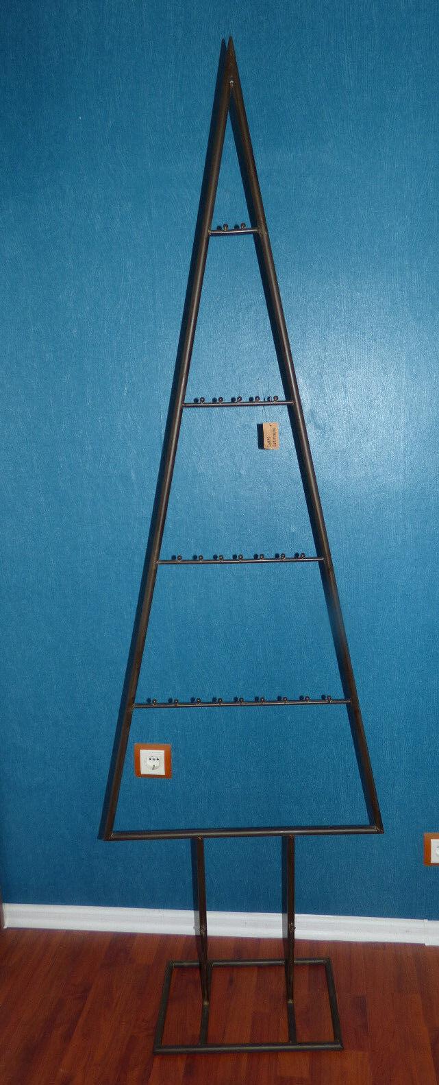Dekobaum Metall schwarz Baum Ostern NEU 60x24xH193cm Dekobaum
