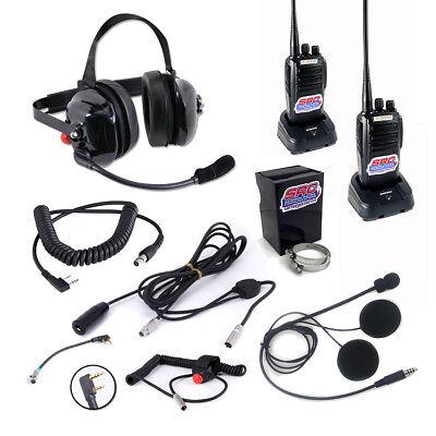 Pro S9 IMSA Digital Helmet Kit With Speakers for Drivers and Racing Radios