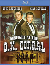 Gunfight at the O.K. Corral Blu-ray Disc 2014 Burt Lancaster Kirk Douglas NEW