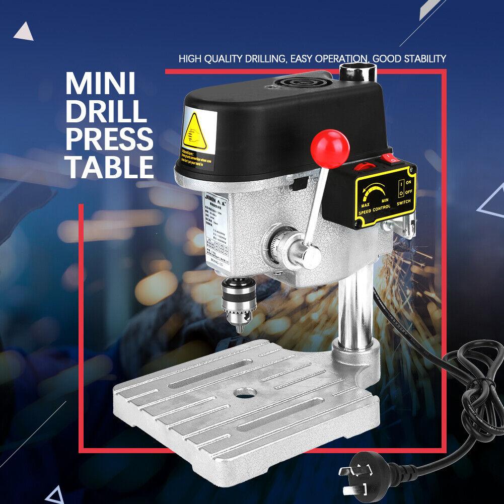 Mini Benching Drill Press Stand Workbench Mounted 350W 5 Speed ...