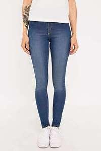 e28b2874dec6 Cheap Monday High Spray High Waist Skinny Jeans - Mid Blue - 24 ...