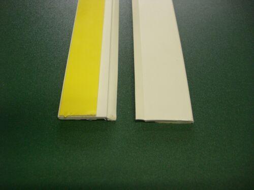 Flachleiste  PVC 6 m 100 mm breit lang Kunststoffleiste mit Weichlippe