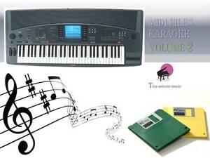 MIDI File Karaoke Floppy Disk Set for PSR 8000 NEW Volume 2