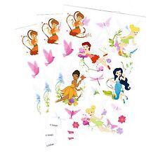 3 New sheets Disney FAIRIES Tinkerbell Faun Scrapbook Stickers!