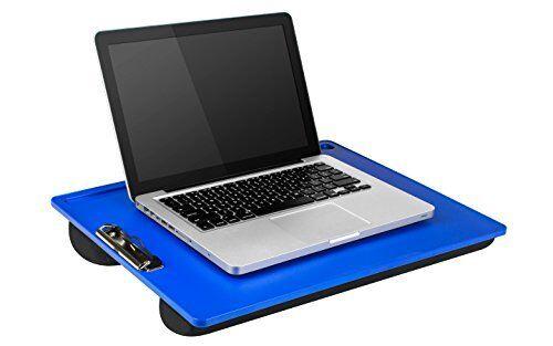 """Alaskan Blue LapGear Compact Lap Desk 43103 Fits up to 13/"""" Laptop"""