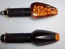 2X UNIVERSAL LED Turn signal Light flasher YAMAHA R1 R6 FZ1 FZ6 Fazer Mt01