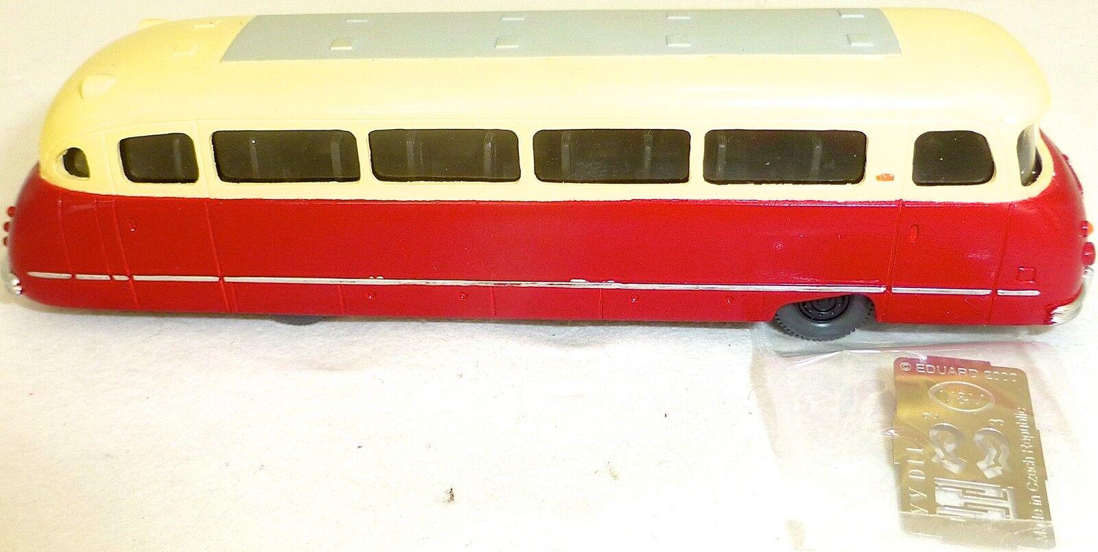 Krauss Maffei Kml Kml Kml 110 Bus Omnibus Travail Manuel Rouge Crème H0 1:87 Vuv V&v Li4 b6c9b0