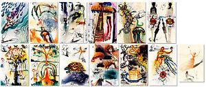 Alices-Adventures-in-Wonderland-by-Salvador-Dali-Set-of-13-Prints