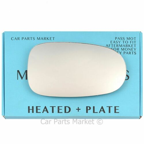 plate Right side Flat Wing mirror glass for Nissan Almera 2000-2006 heated