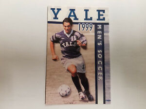 1b40585deb4 Yale University Bulldogs 1999 Men s Soccer Pocket Schedule - Fusco ...