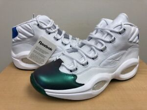 Reebok Question Currensy x Jet Life CN3671 Stem Green Vital Blue ... bc74aff7d