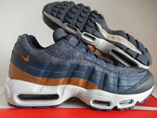 low priced 6929d 58604 Nike Air Max 95 PRM Wool Mens 538416-403 Thunder Blue Ale Brown Shoes Size