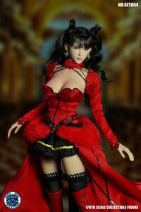 SUPER DUCK SET054 1/6  Magical Girl Head & Suit fit 12'' Phicen Female Figure