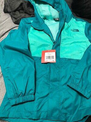 632e0f282 The North Face Girl's Madison Rain Jacket POOL GREEN Size MEDIUM (10/12)    eBay
