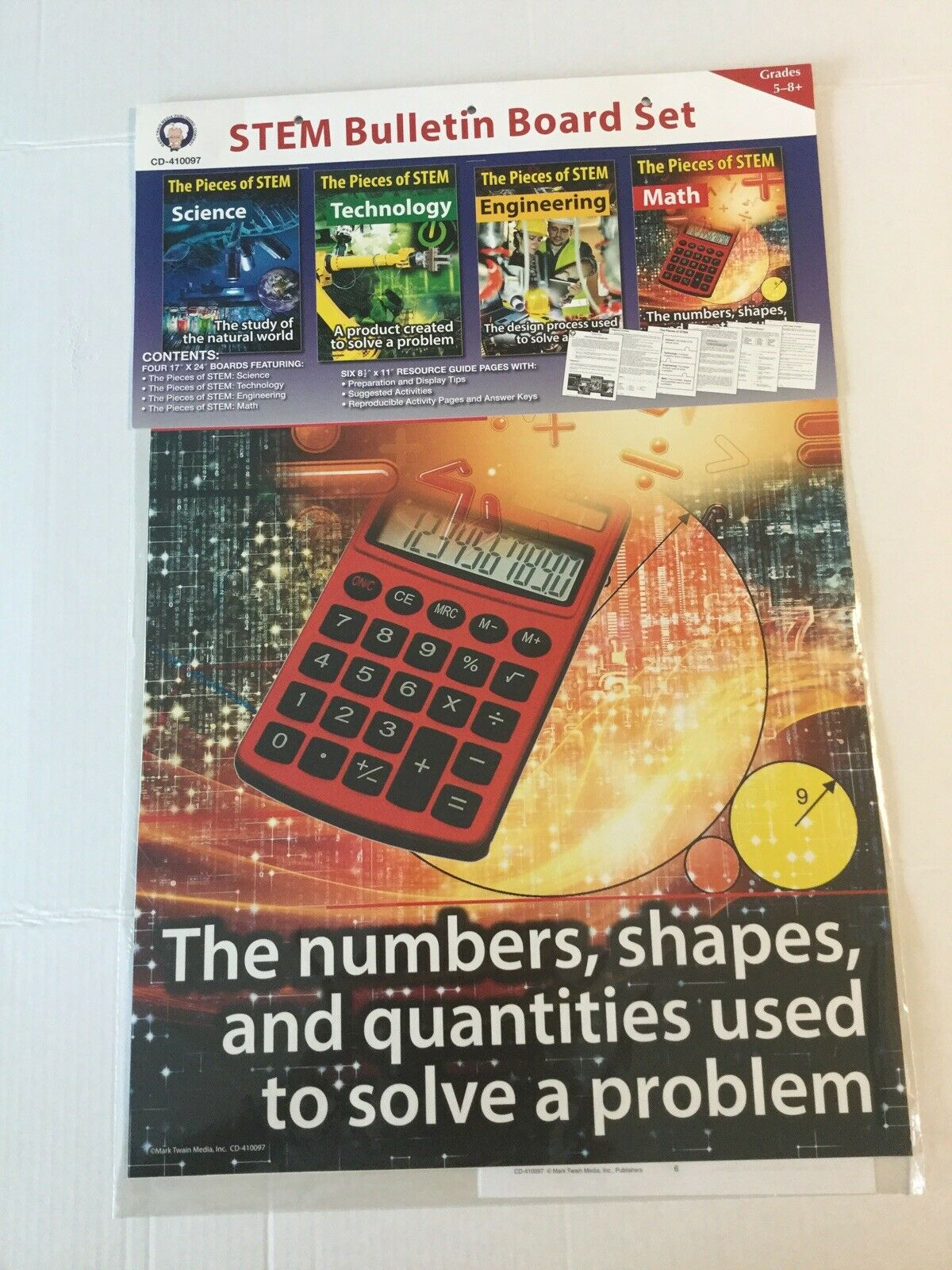 Carson Dellosa Stem Bulletin Board Set Cd 410097 Grades 5 8 Classroom Decor For Sale Online