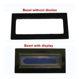 1602 LCD BEZEL mount with/without 1602 LCD display, for Ham Radio, Arduino.