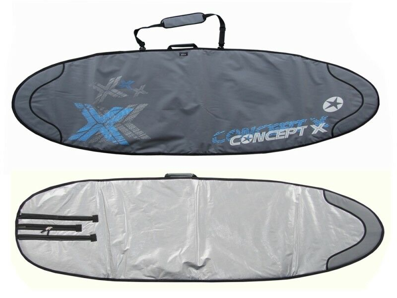 Concept X Boardbag Windsurf Surf Bag Surfbrett Tasche Rocket 238 x 55 cm Twinser