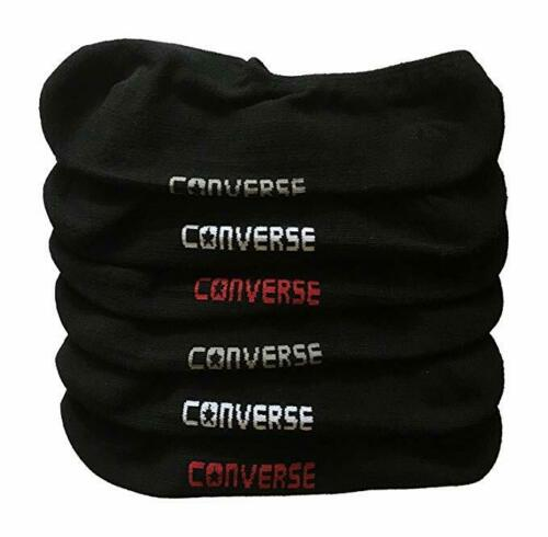 Converse Unisex Black  Pack of 3 Ankle Socks Size 9 to 11 5y-7y