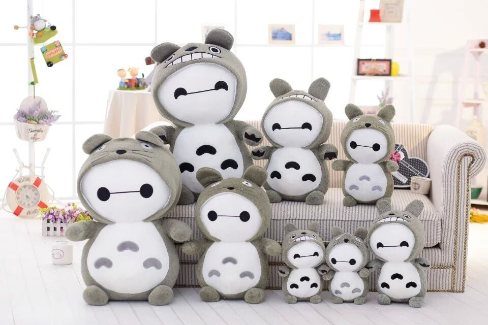 New Totgold Coat Baymax Soft Stuffed Plush Doll Action Toys Kids Birthday Gift