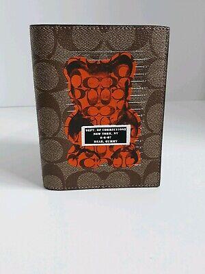 COACH Bifold men/'s leather wallet $128 FREE WORLDWIDE SHIPPING