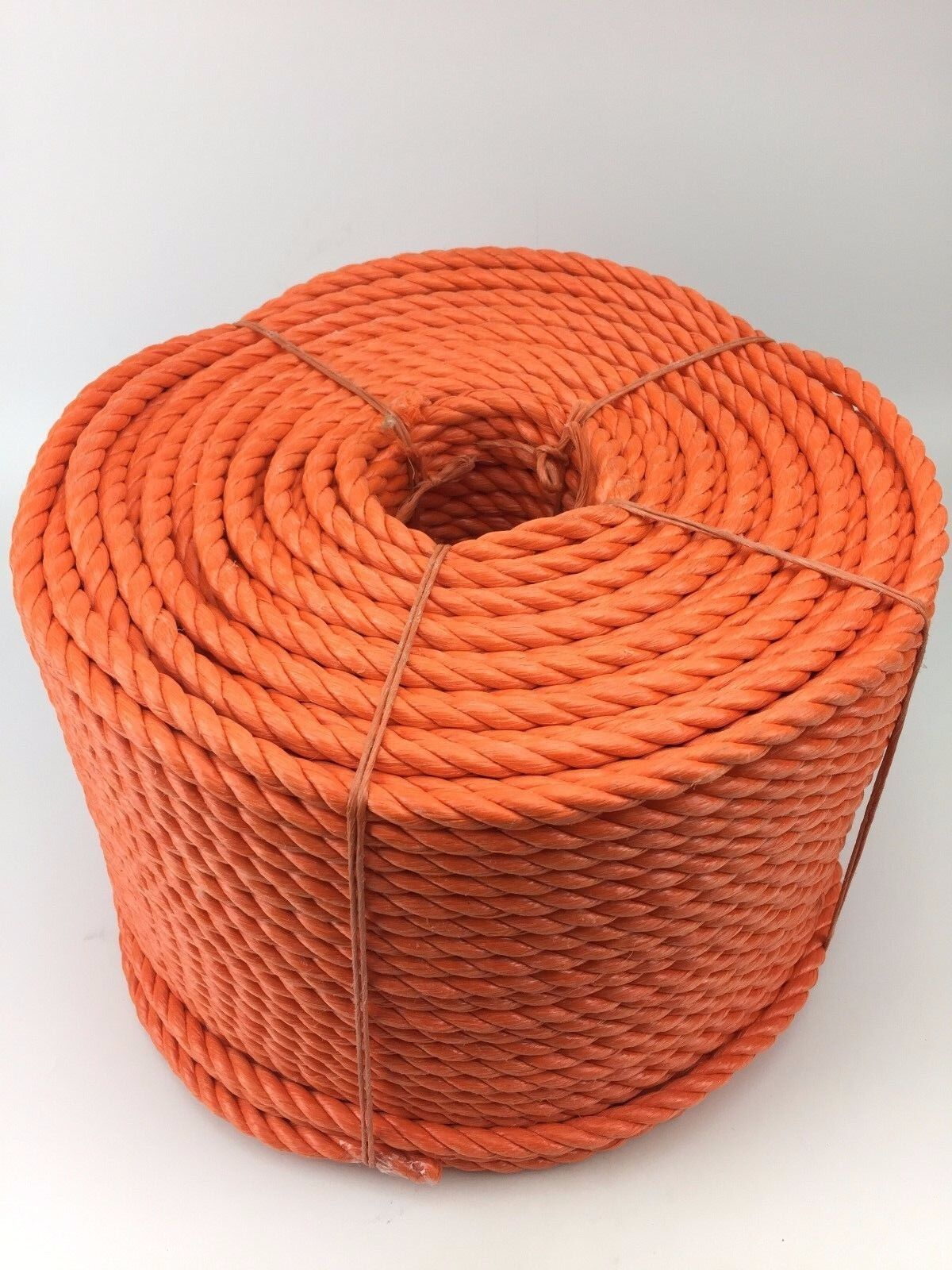 10mm orange Polypropylene Rope x 220m Coil, orange Poly Rope Coils, Polyrope