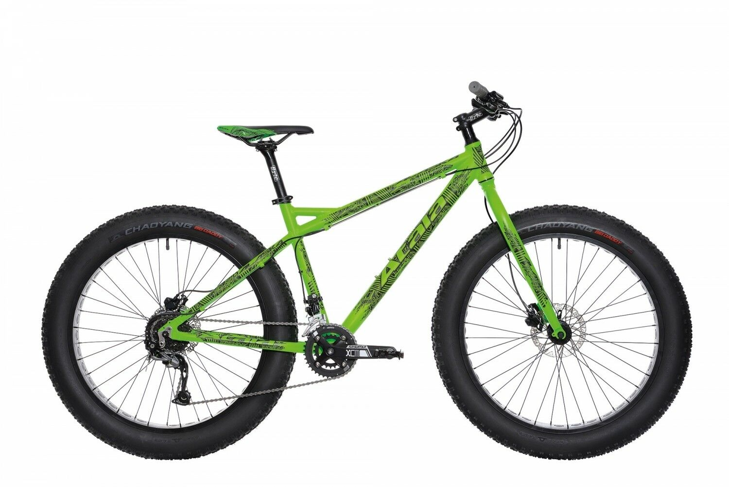 BICYCLE Mountain Bike MTB ATALA ALASKA 26  18V UNISEX FATBIKE disc