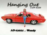hanging Out Wendy Figure For 1:24 Scale Models American Diorama 23954