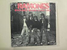 "RAMONES: Rockaway Beach 2:06 Mono-Stereo-U.S. 7"" 1977 Sire Records Inc. DJ PSL"