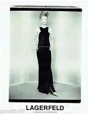 PUBLICITE ADVERTISING 115  1997  LAGERFELD   haute couture