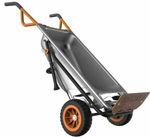 WORX-WG050-Aerocart-8-in-1-2-Wheel-Wheelbarrow-Garden-Cart-Dolly