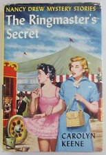 Nancy Drew THE RINGMASTER'S SECRET UK British Carolyn Keene Sampson Low HBDJ