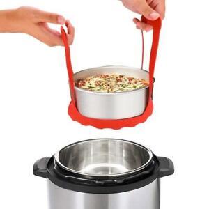 Pressure-Cooker-Sling-Steamer-Silicone-Bakeware-Lifter-Cook-Rack-AU