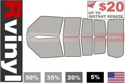 20/% 4 Door Rtint Window Tint Kit for Chevrolet Silverado 2014-2018 - Complete Kit