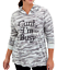 thumbnail 1 - Torrid 5X Plus Size Camo Can't Busy Super Soft Light Hoody Pullover Tunic Tee