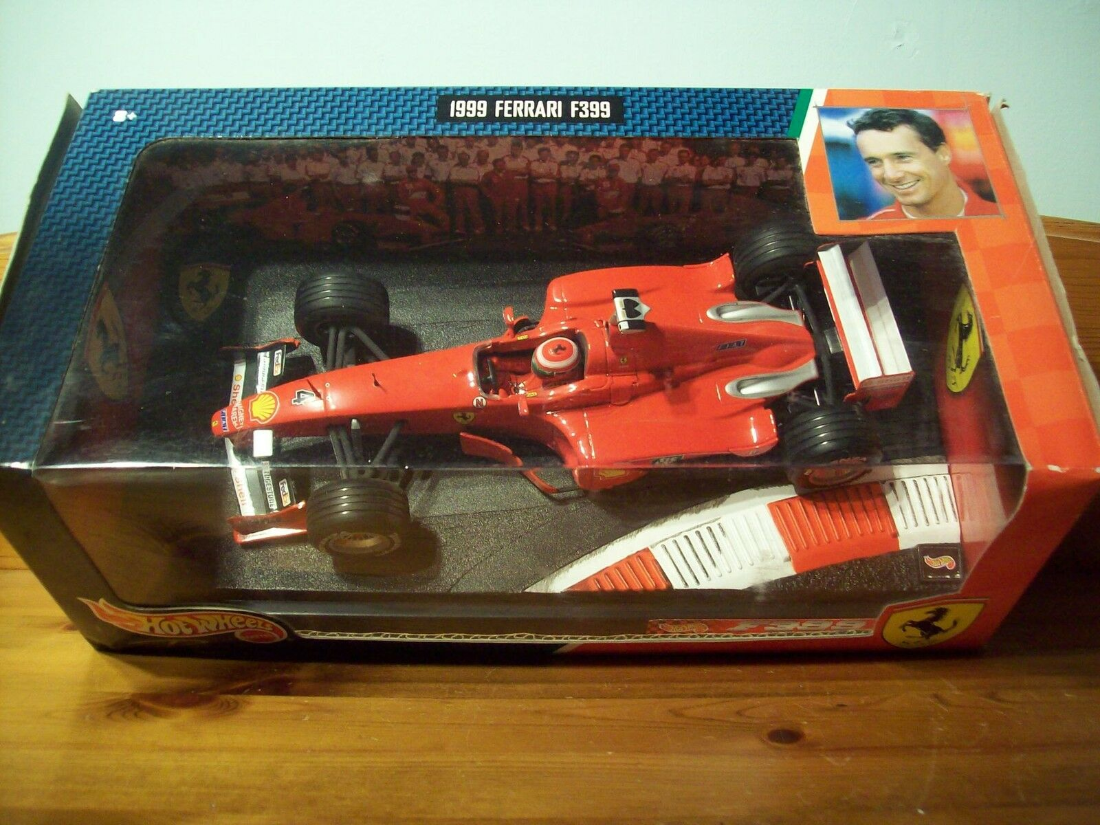 1 18 Hot Wheels Ferrari F399 Eddie Irvine 1999
